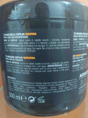 k mascarilla - Ingredients - en