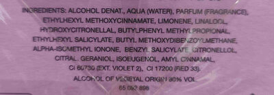 perfume Benetton - Ingredients