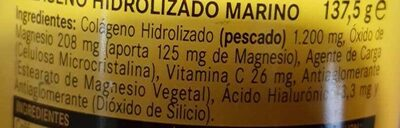 Colageno Hidrolizado Marino - Ingredients - fr