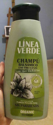 Champu balsamico uso frecuente - Product - en