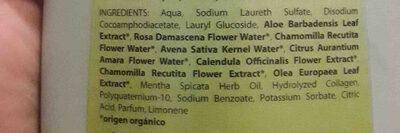 Champu balsamico uso frecuente - Ingredients - en