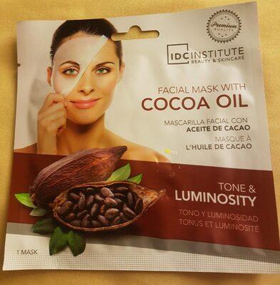 Masque à l'huile de cacao - Produit