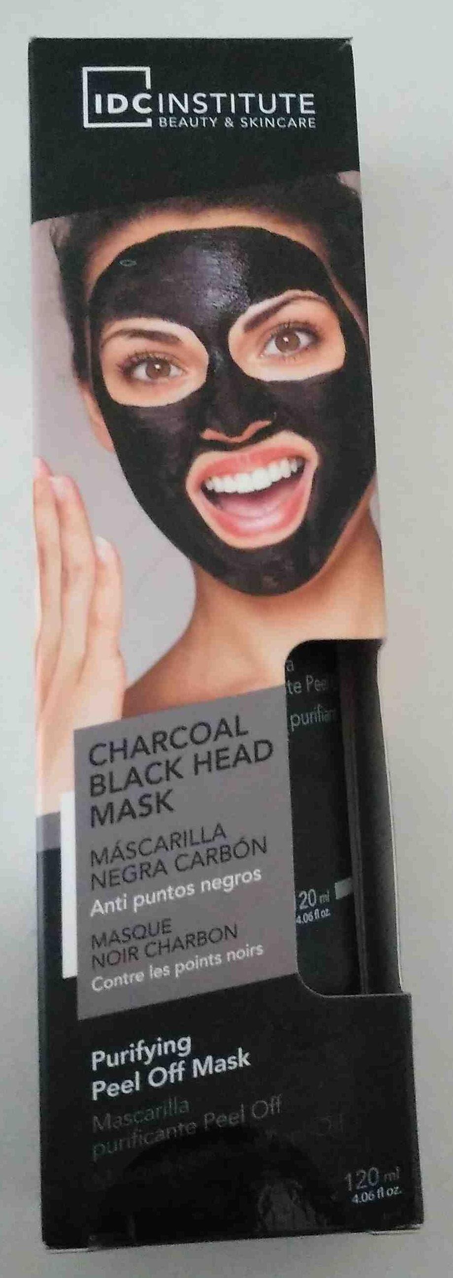 Mascarilla Negra Carbon - Product - en