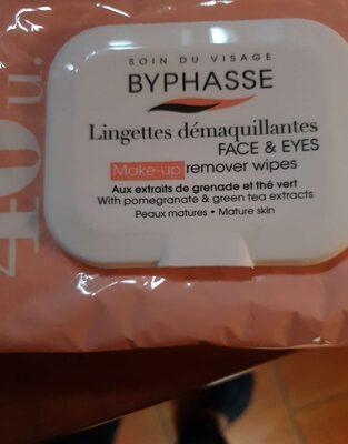 Lingette démaquillante - Product