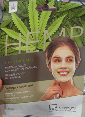 hemp face mask idc institute - Product - en