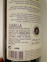 Juan Gil Etiqueta Amarilla 2016 - Ingredients - es