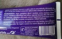 Fisiocrem - Ingredients - en