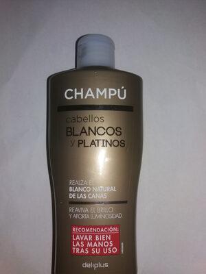 Champú Cabellos Blancos y Platinos - Product