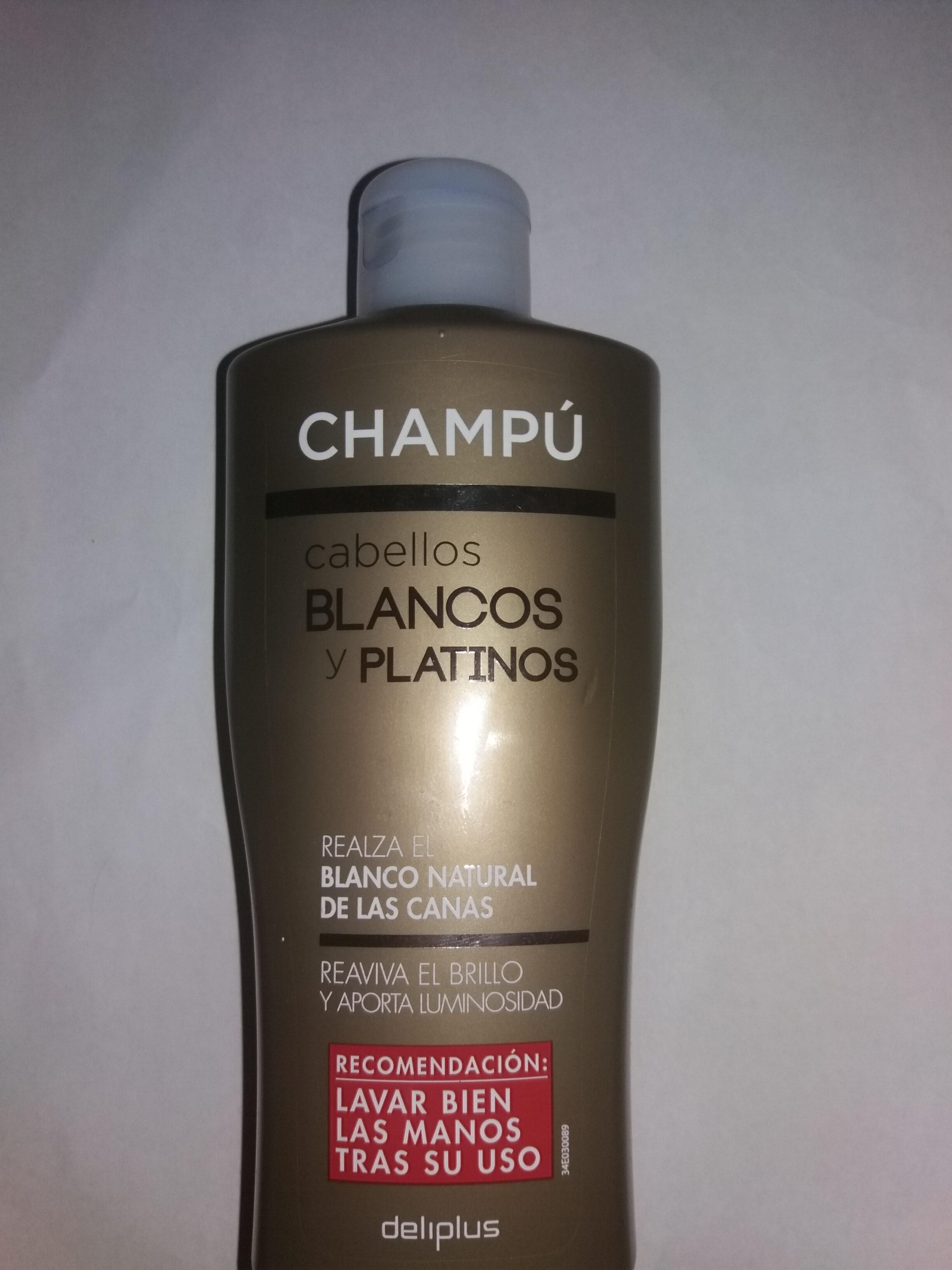 Champú Cabellos Blancos y Platinos - Product - es