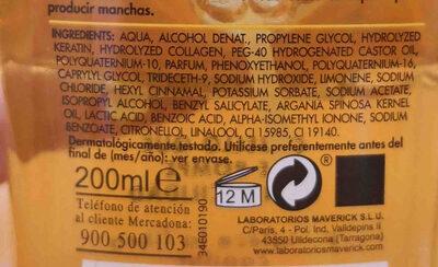 Stylius keratina liquida - Ingredients - en