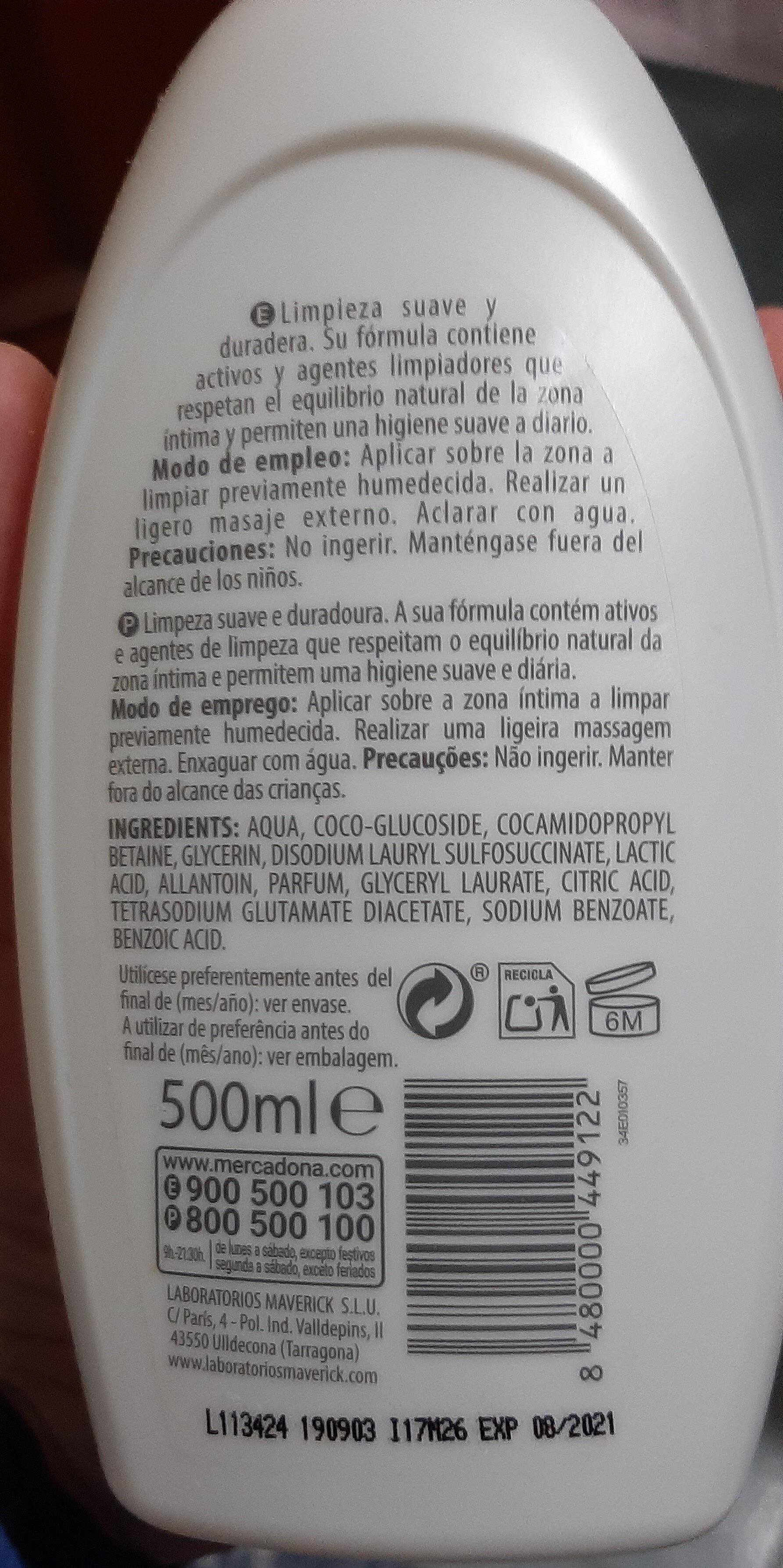 Gel de higiene íntima - Product - es