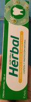 crema dental herbal aloe vera - Product - en