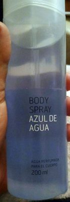 Azul De Agua Body Spray - Produit
