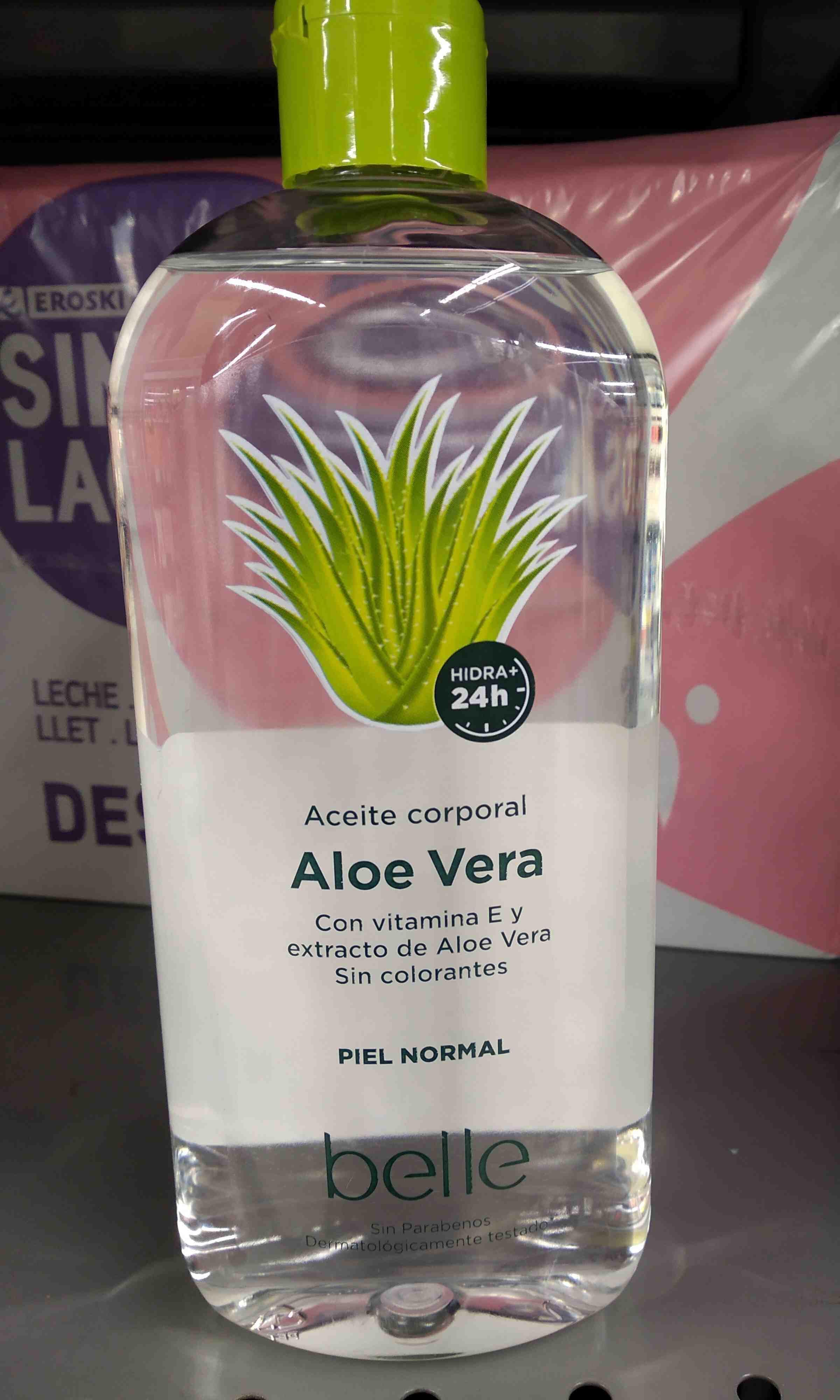 Aceite corporal aloe vera - Product - en