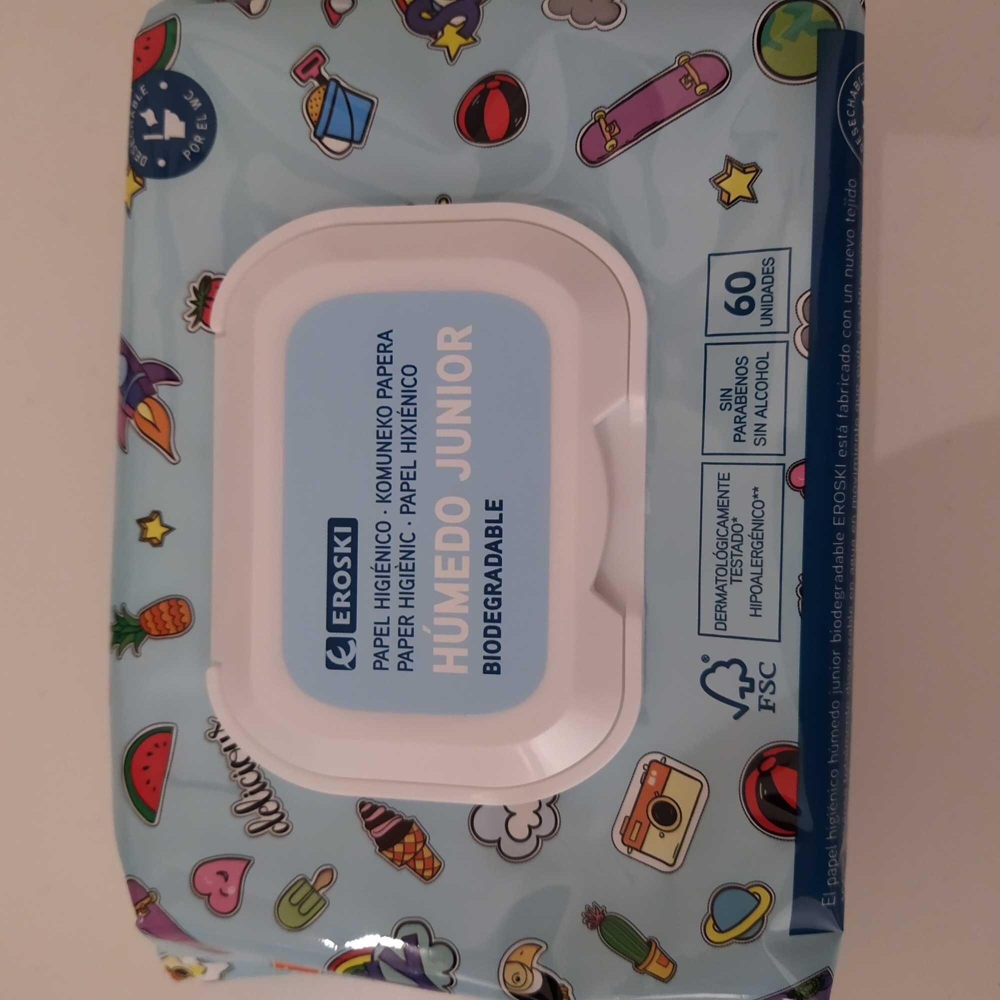 Papel higiénico húmedo junior - Product