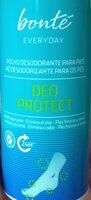 polvo desodorante para pies - Product - en