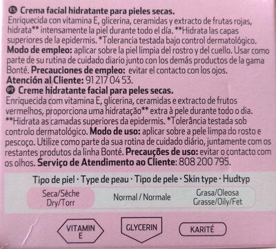 Crema hidratante Pieles secas - Product