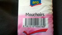 Mouchoirs - Product - fr