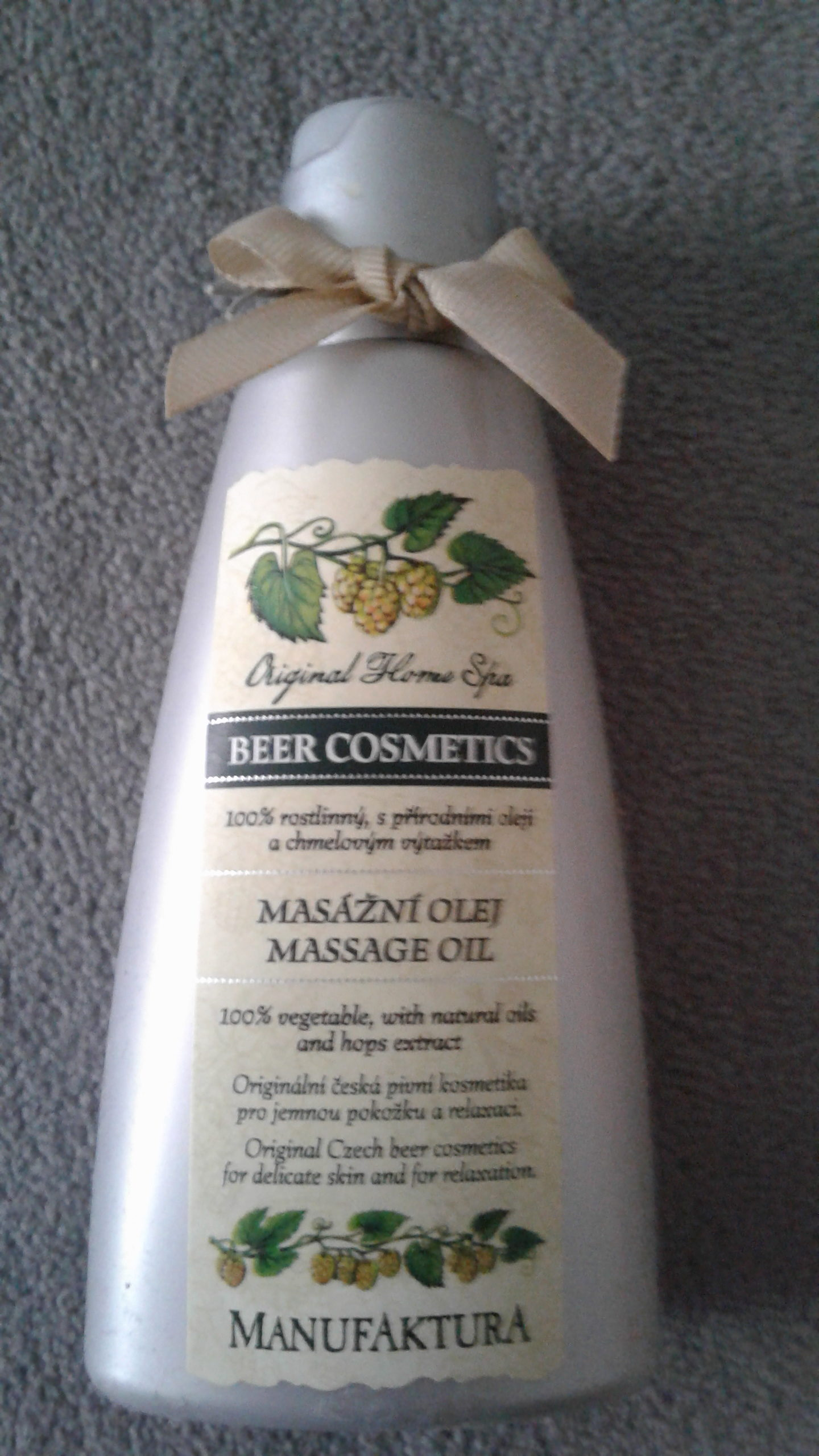 Original Home Spa Beer Cosmetics - Product