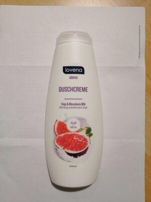 lovena Körper Duschcreme Feige & Macadamia Milk - Product