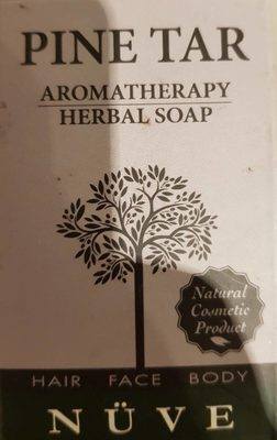 Pine Tar Herbal Soap - Product