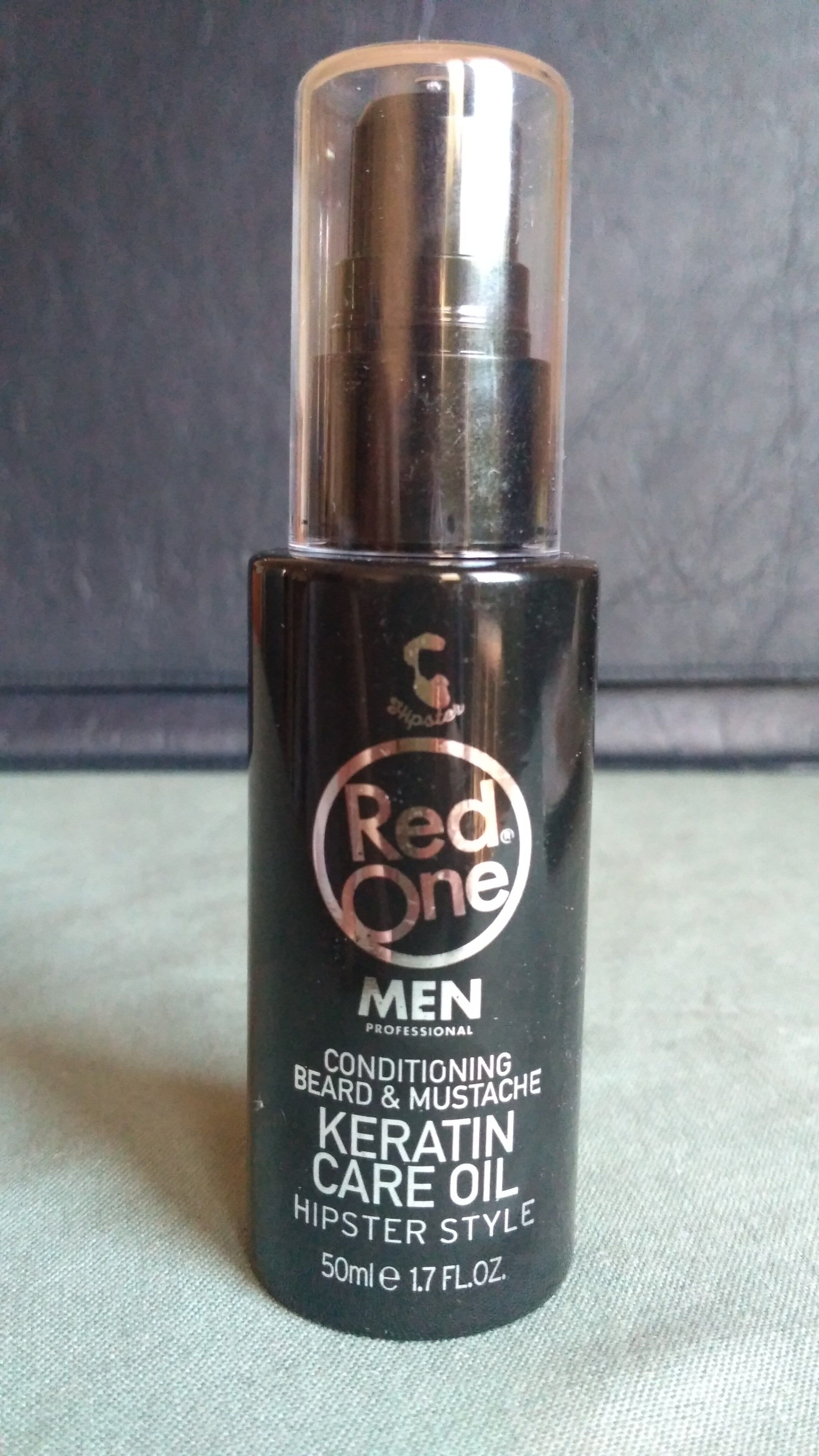 Conditioning Beard & Mustache Keratin Care Oil Hipster Style - Produit