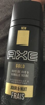 Axe Gold Our Wood & Dark Vanilla - Product - fr