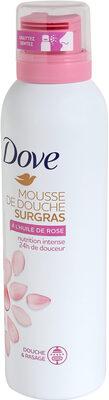 Dove Surgras Gel Douche Mousse Nourrissante Huile de Rose 24h - Product - fr