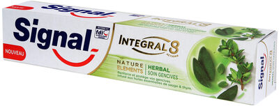 Signal Dentifrice Antibactérien Nature Elements Herbal Soin Gencives - Product - fr