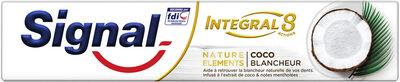 Signal Dentifrice Antibactérien Integral 8 Nature Elements Coco Blancheur - Product - fr