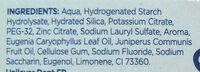 Dentifrice girofle - Ingredients - fr