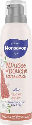 Monsavon Gel Douche Mousse Fraîcheur Agrume Pamplemousse & Jasmin - Product - fr
