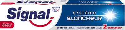 Signal Dentifrice Système Blancheur - Produto