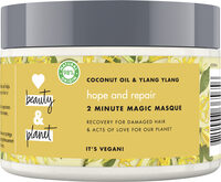 Love Beauty And Planet Masque Cheveux Oasis Réparatrice - Product - fr