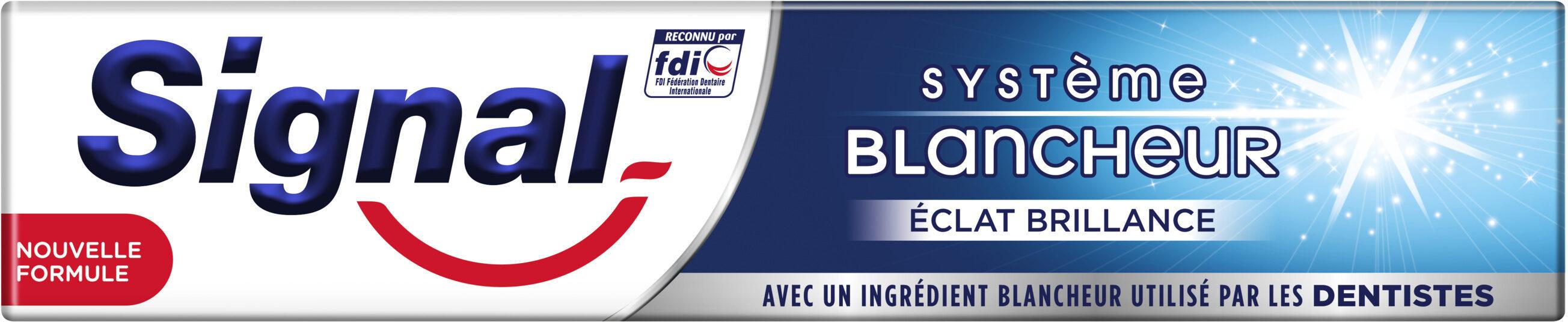 Signal Dentifrice Système Blancheur Éclat Brillance - Product - fr