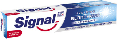 Signal Dentifrice Système Blancheur Eclat Brillance - Product - fr