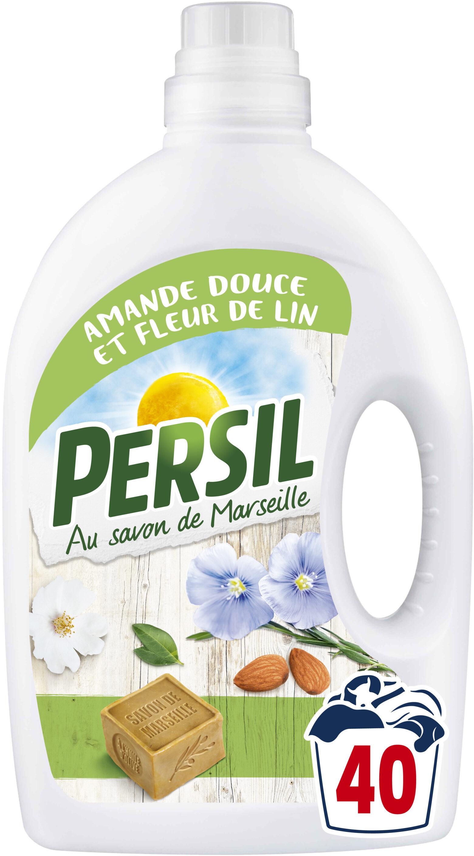 Persil Lessive Liquide Peau Sensible Amande Douce 2l 40 Lavages - Product - fr