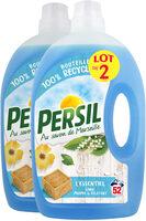 Persil Lessive Liquide l'Essentiel 2,6l 52 Lavages Lot de 2 - Product - fr