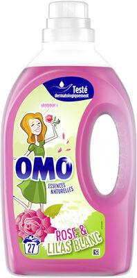 Omo Lessive Liquide Rose & Lilas Blanc 1,35L 27 Lavages - Product - fr