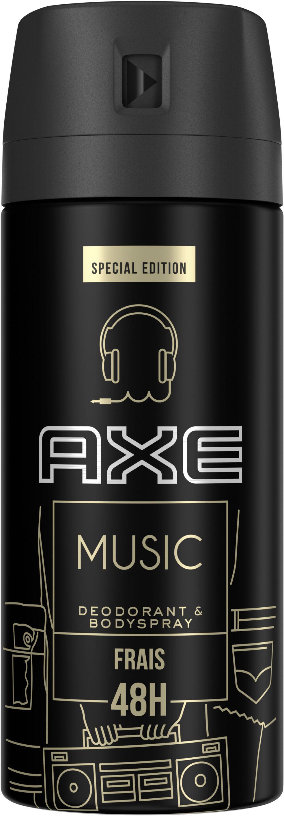 AXE Music Déodorant Homme Spray Antibactérien All Day Fresh - Продукт - fr
