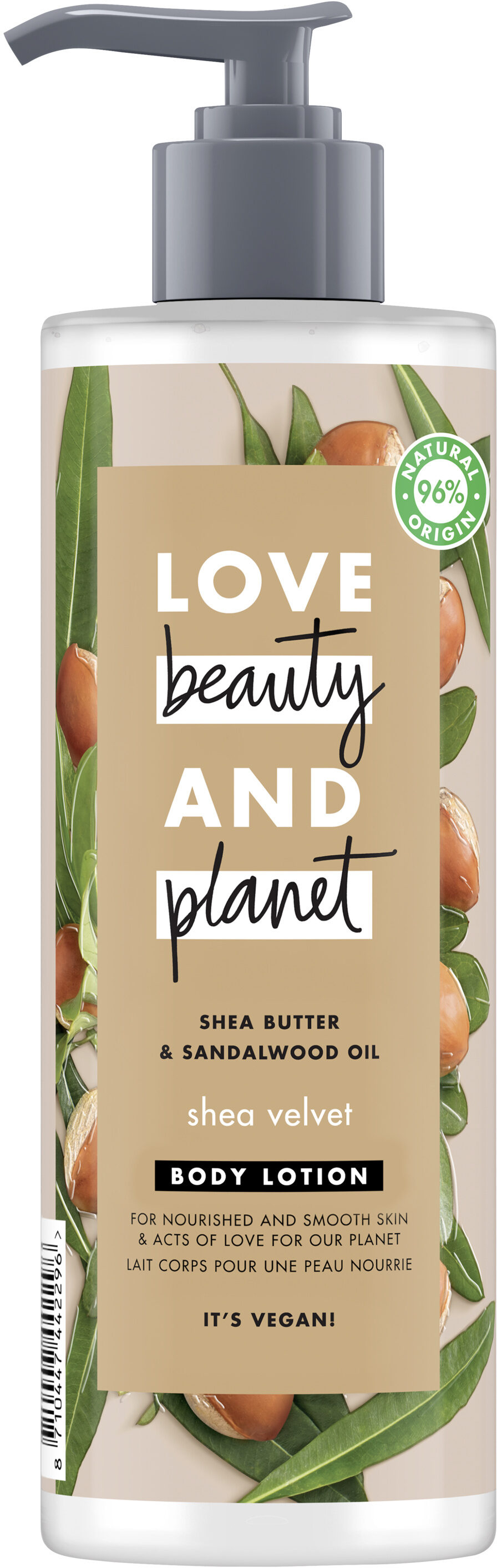 Love Beauty And Planet Lait Corps Nutrition Veloutée - Product - fr