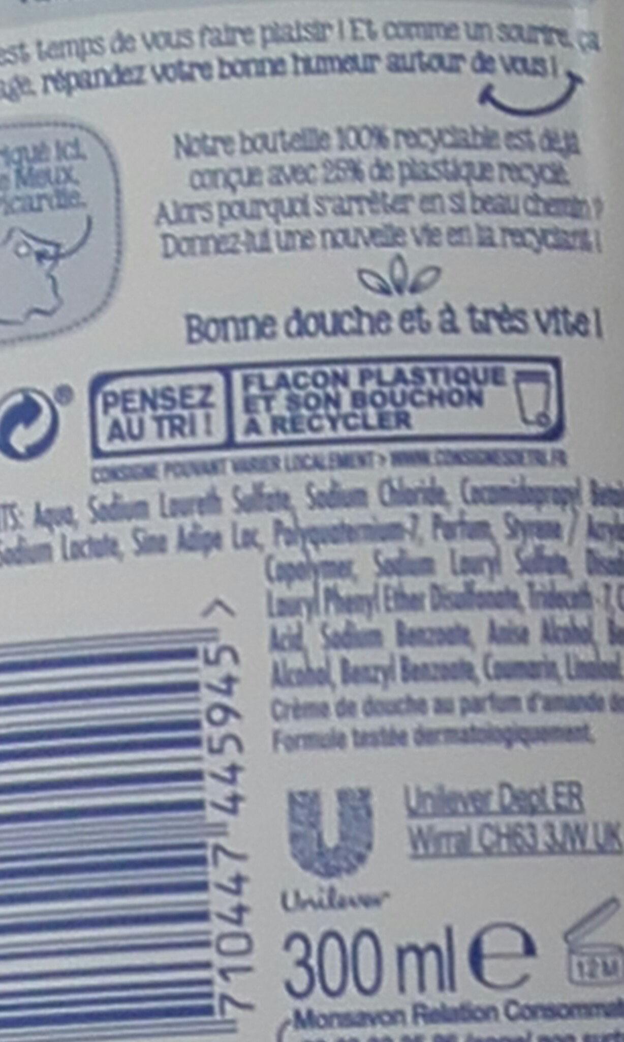 monsavon au lait - Ingrédients - fr