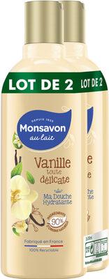 Monsavon Gel Douche Vanille Toute Délicate 300ml Lot de 2 - Product - fr