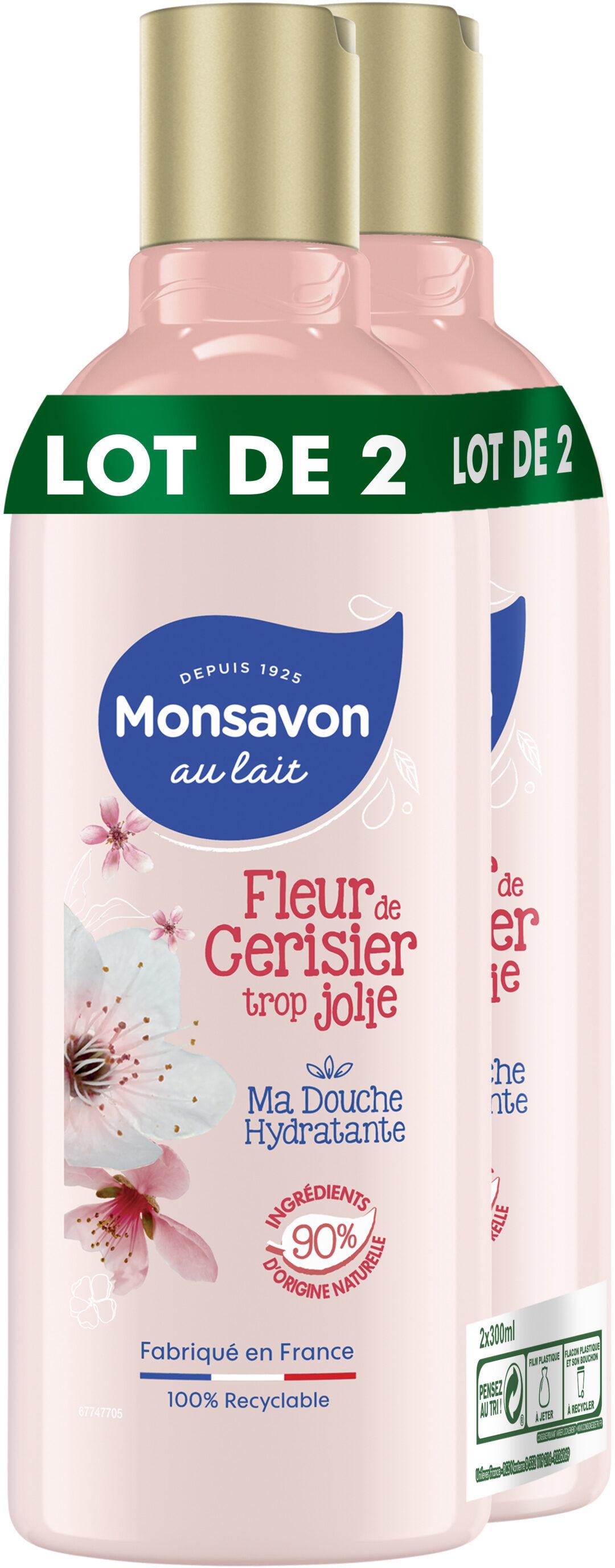 Monsavon Au Lait Gel Douche Passion Bien Fruitée 300ml Lot de 2 - Produit - fr