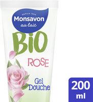 Monsavon Gel Douche Bio Rose Thé Vert - Product - fr