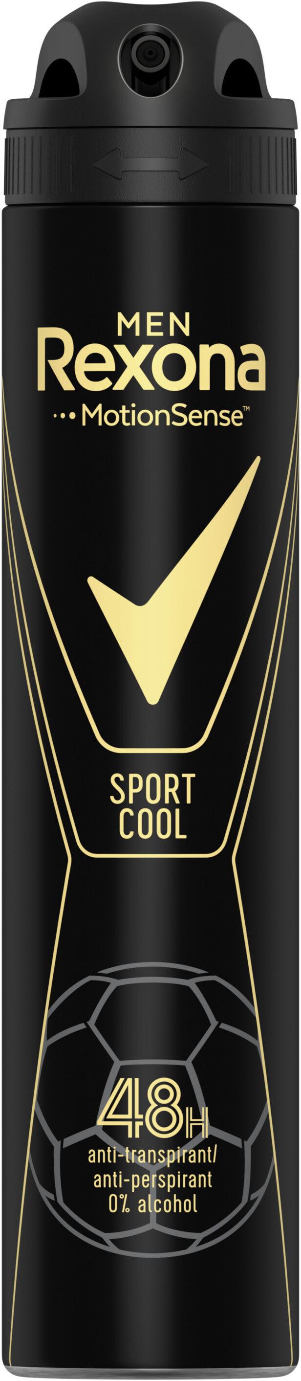 REXONA MEN Déodorant Homme Spray Anti-Transpirant Sport Cool - Product - fr
