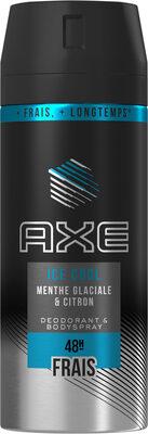 AXE Déodorant Homme Spray Ice Cool Frais 48h - Продукт - fr