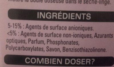 Skip sensitive 27 lavages. Hypoallergénique avec Aloe Vera. - Ingrédients