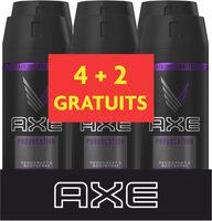 AXE Déodorant Homme Spray Anti Transpirant Provocation 150ml Lot de 6 - Produit - fr