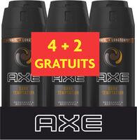 AXE Déodorant Homme Spray Dark Temptation Lot 6X150ML - Produit - fr